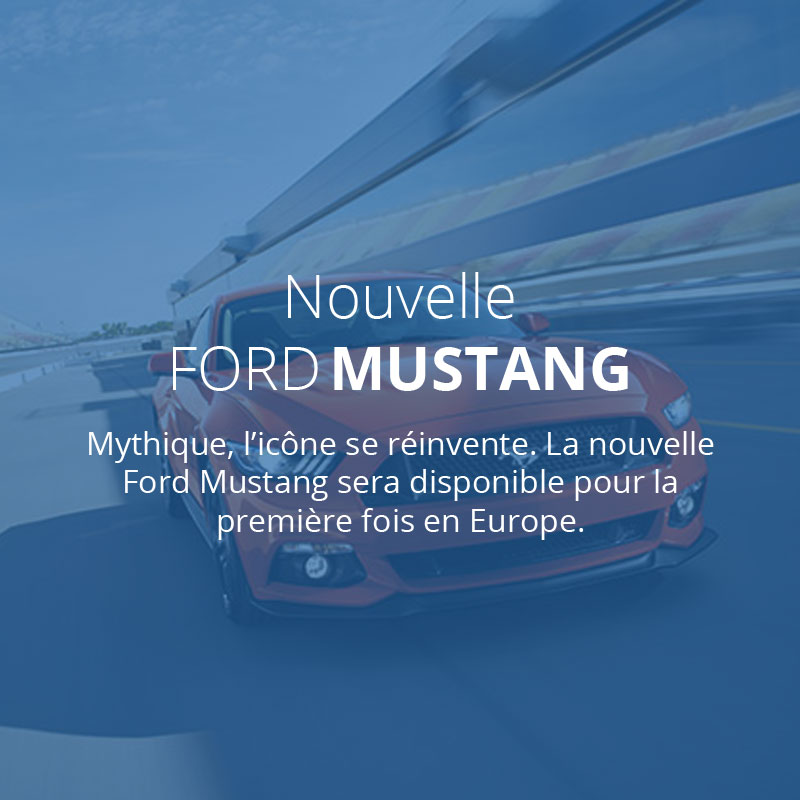 Ford 3ème rang 2 - Ford Mustang