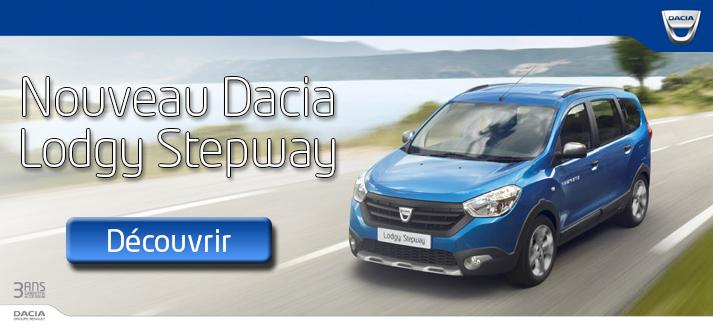 Offre promo Dacia Lodgy Stepway