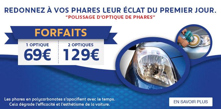Peugeot Polissage Optiques de Phares