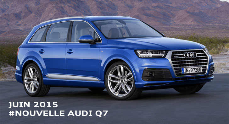Nouvelle Audi Q7