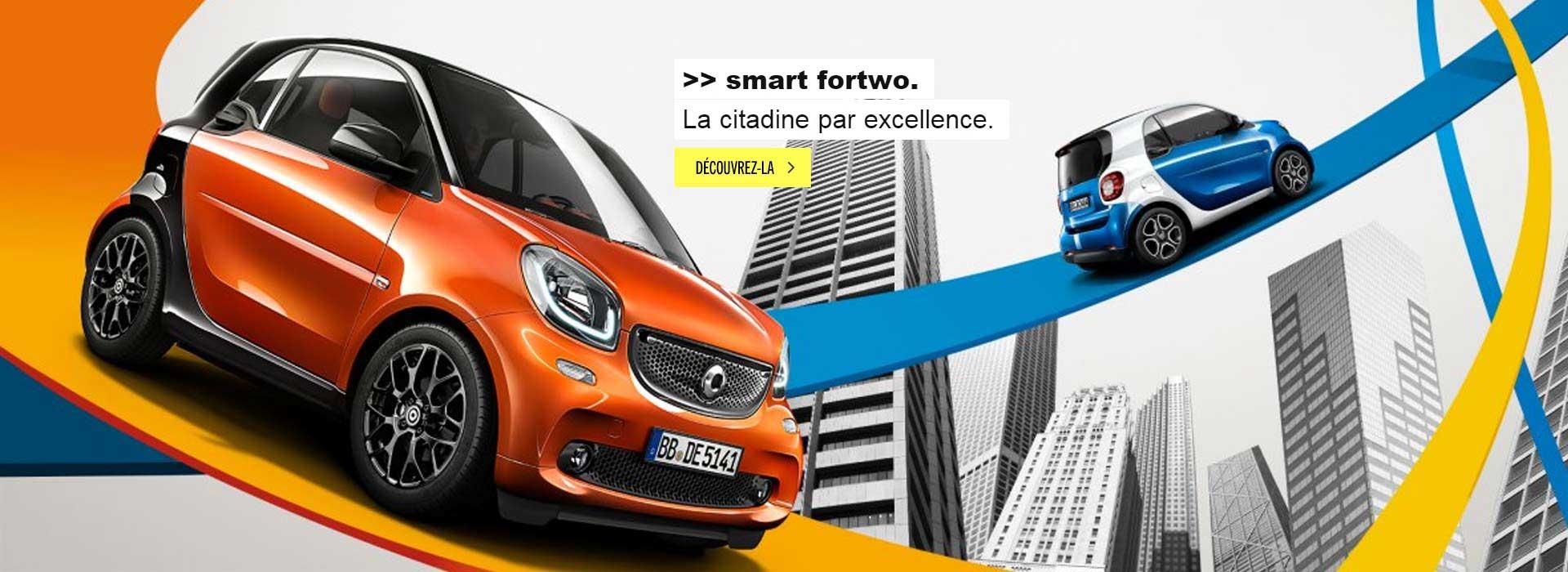 Smart Fortwo la citadine par excellence