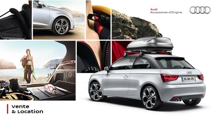Accessoires origine Audi