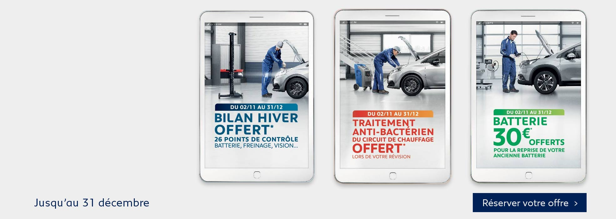 Promotion Atelier Peugeot