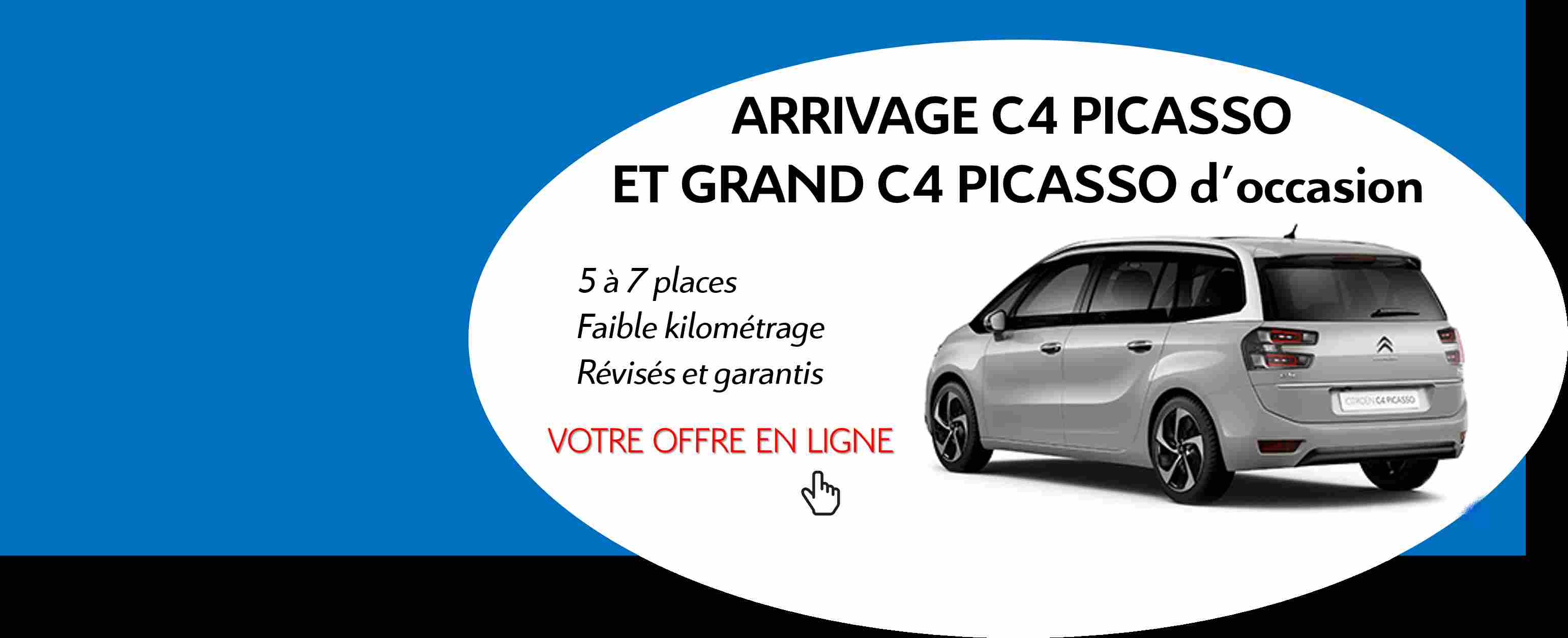 Arrivage C4 Picasso d'occasion