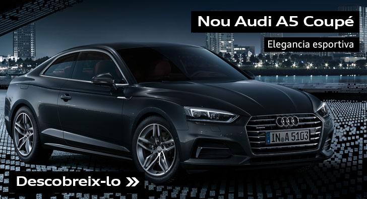 Nou Audi A5 Coupe