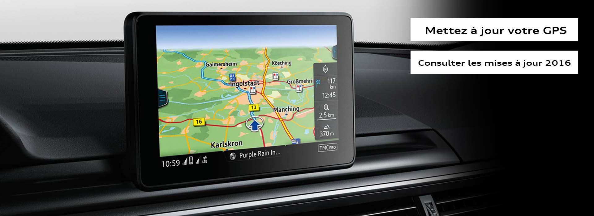 Audi Mise à jour GPS 2016