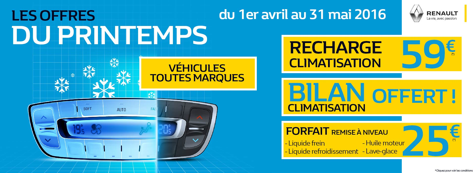 Offre revision Renault promotion chartres chateaudun maintenon epernon