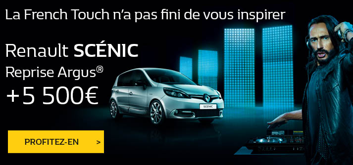 promotion Renault Scenic