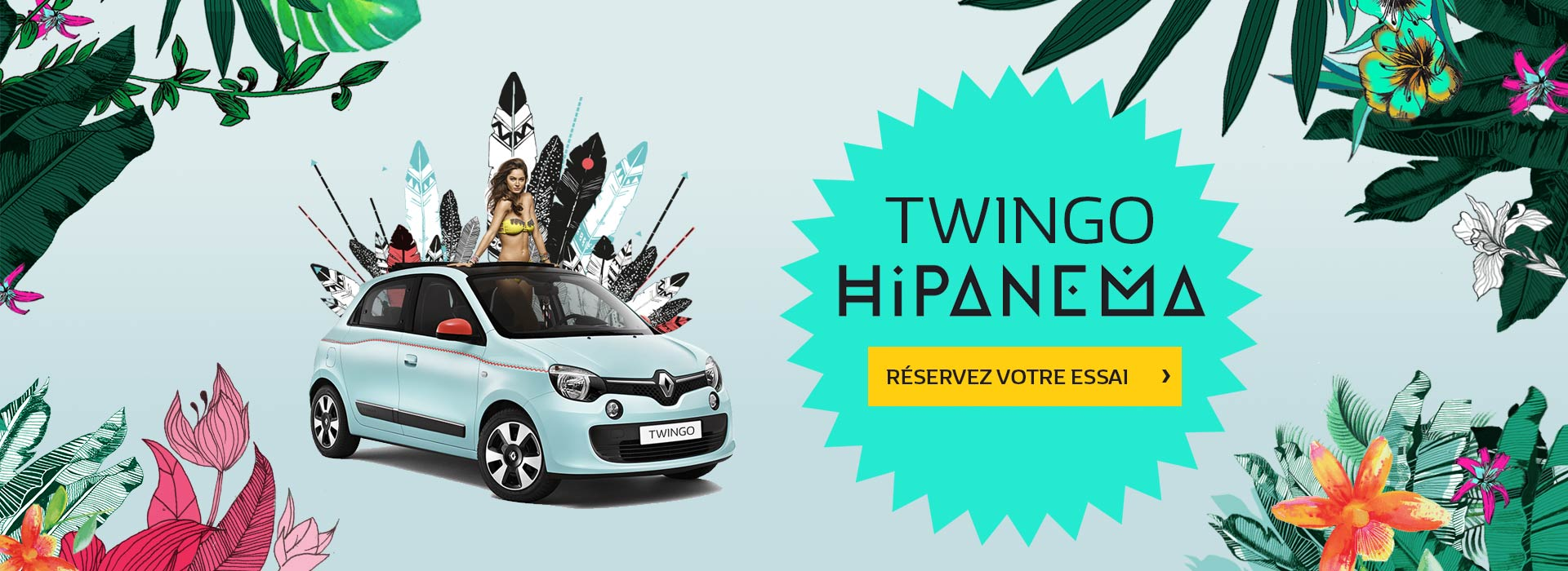 promotion Twingo Hipanema