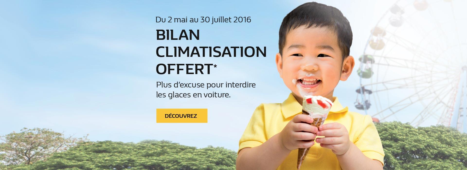 Bilan Climatisation