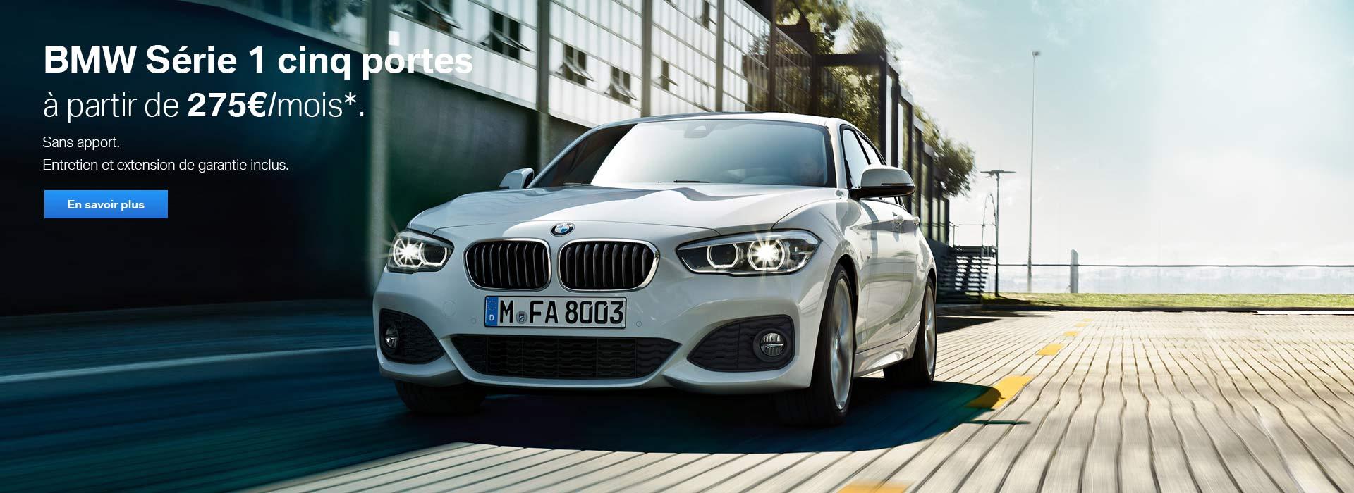 BMW SERIE 1 CINQ PORTES