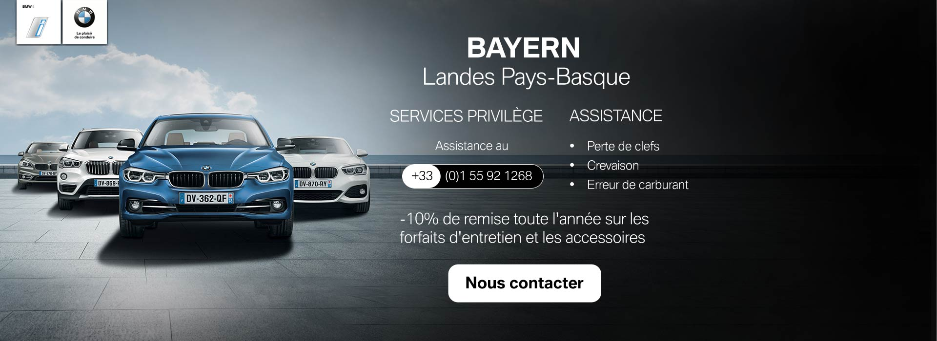 Carte Privilège BMW