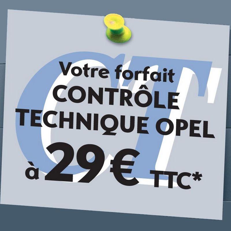 Contrôle technique à 29€ TTC