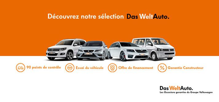 DAS WELTAUTO Occasions Groupe Volkswagen