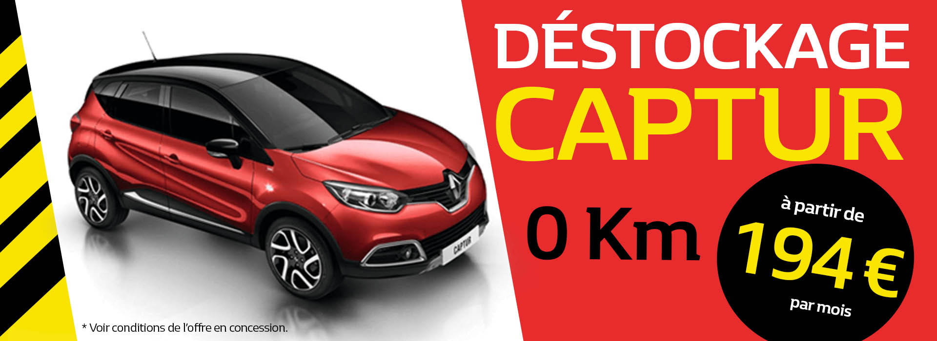 Destockage Renault Captur