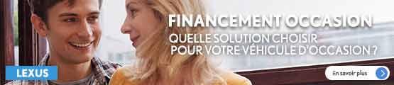Financement occasions GTA Lexus