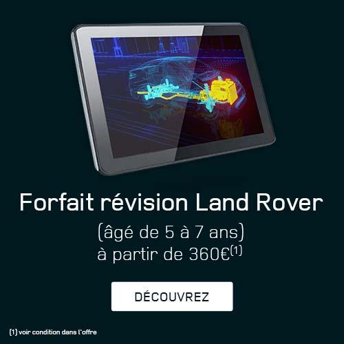 Forfait Révision Land Rover