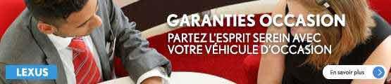 Garanties occasions GTA Lexus