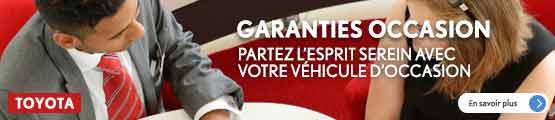Garanties occasions GTA Toyota