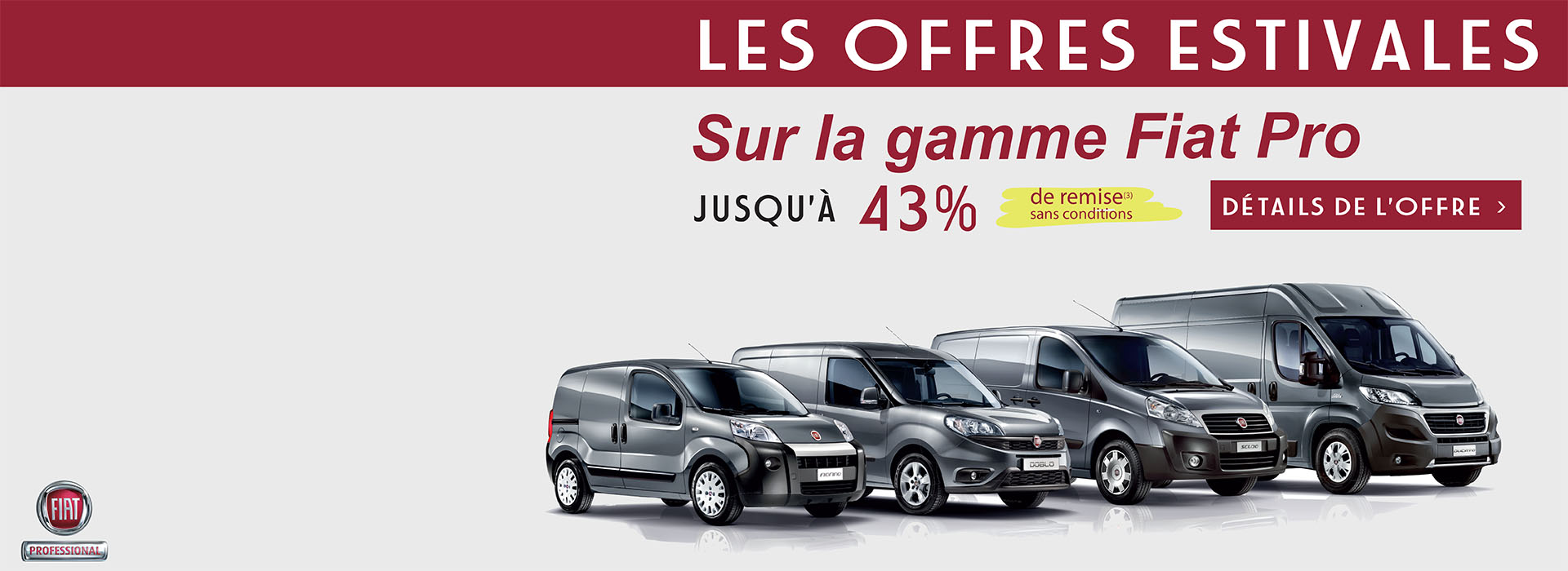 promotion gamme fiat pro