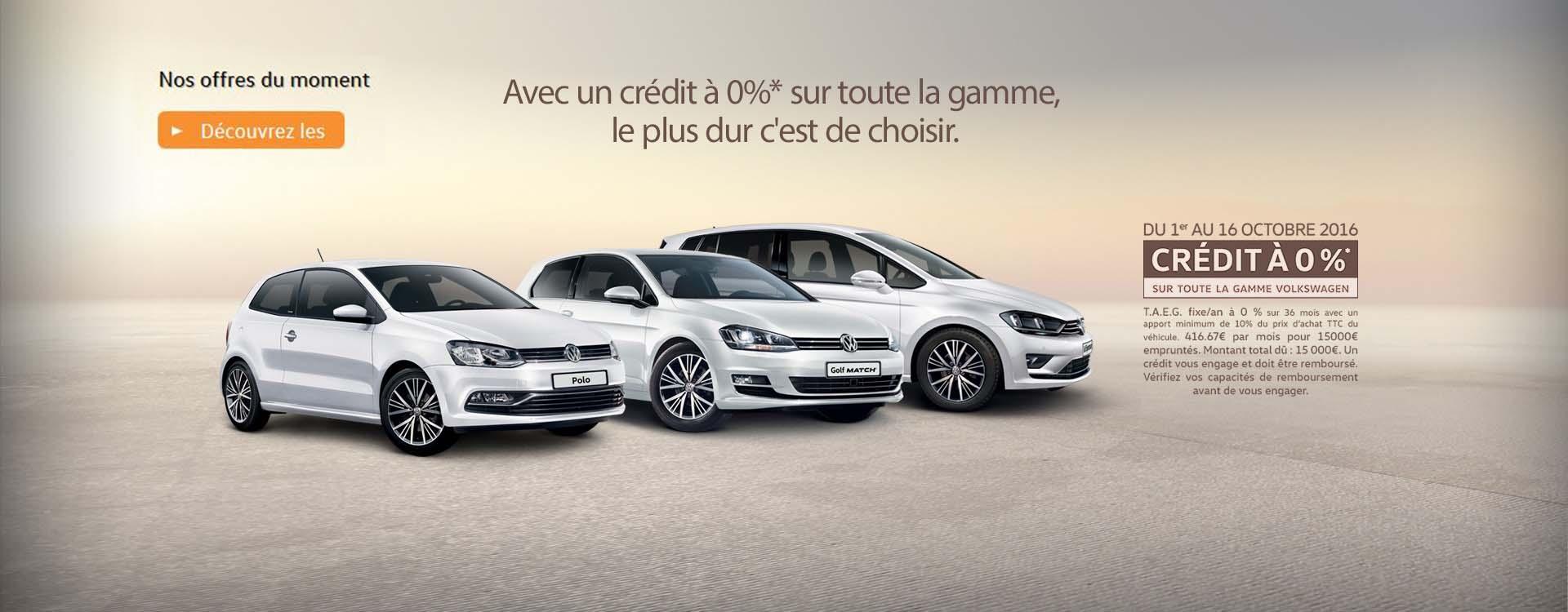 Les Offres Volkswagen Chartres sur le neuf