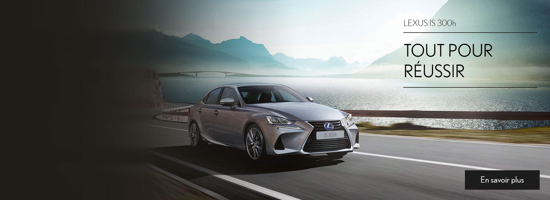 Promotions Lexus IS 300h neuve