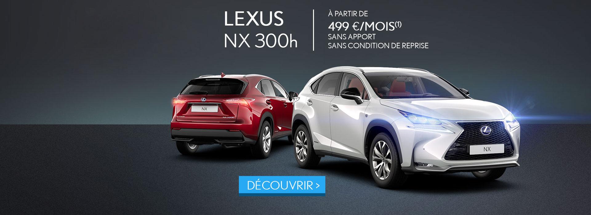 Promotion Lexus Neuve