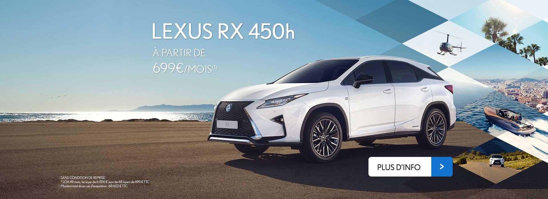 Nouveau Lexus RX 450h Neuve