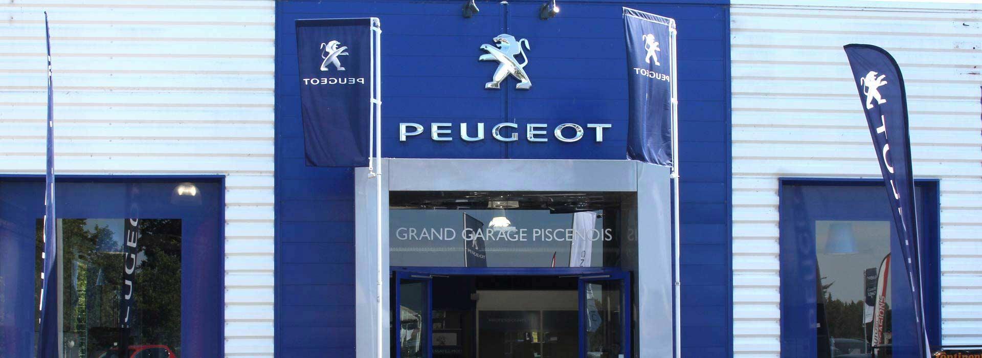 Peugeot pezenas concessionnaire garage h rault 34 for Garage delvaux pezenas