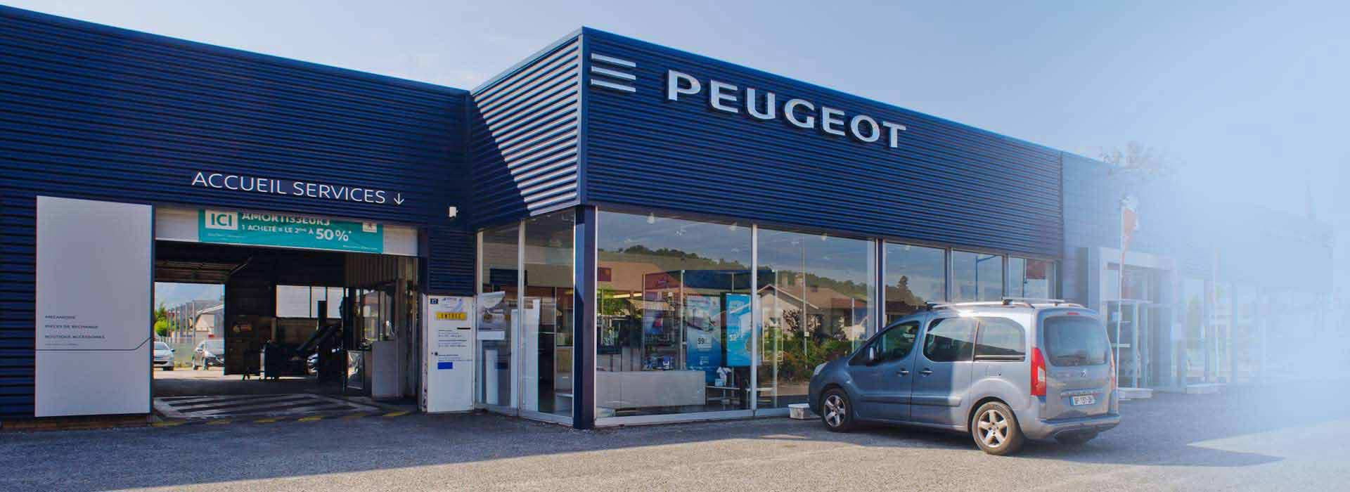 Peugeot saint marcellin concessionnaire garage is re 38 for Garage renault st marcel