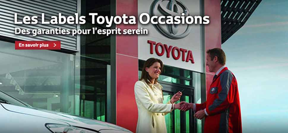 Labels Toyota Occasions