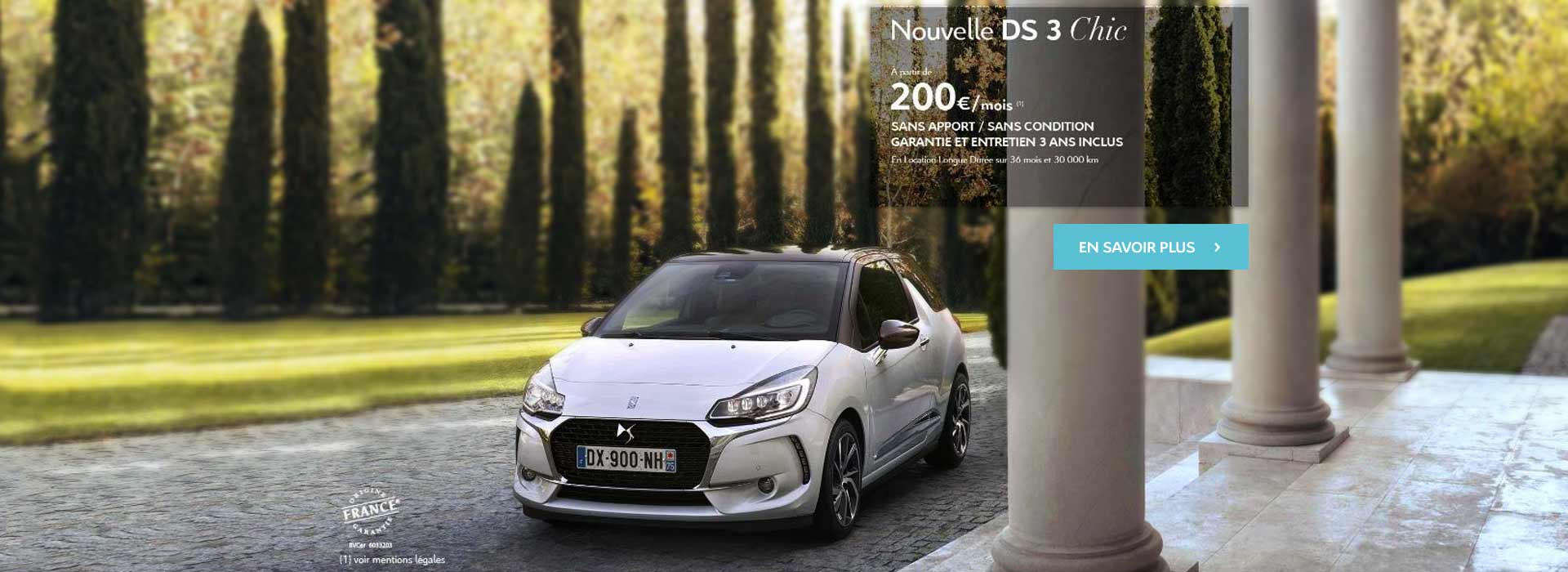 DS 3 chic