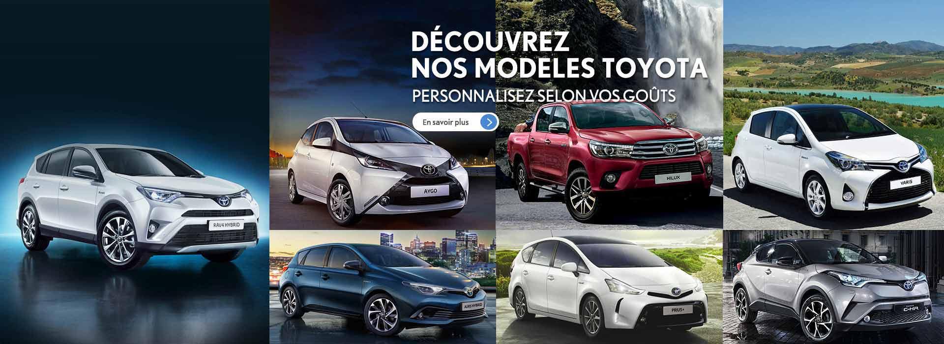 Modèles Toyota