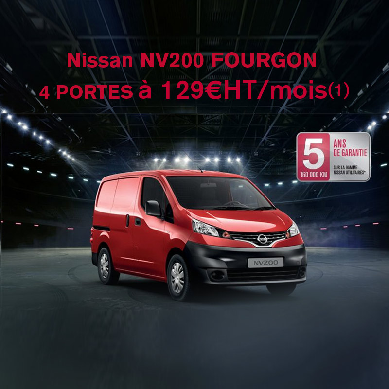 Nissan Fourgon