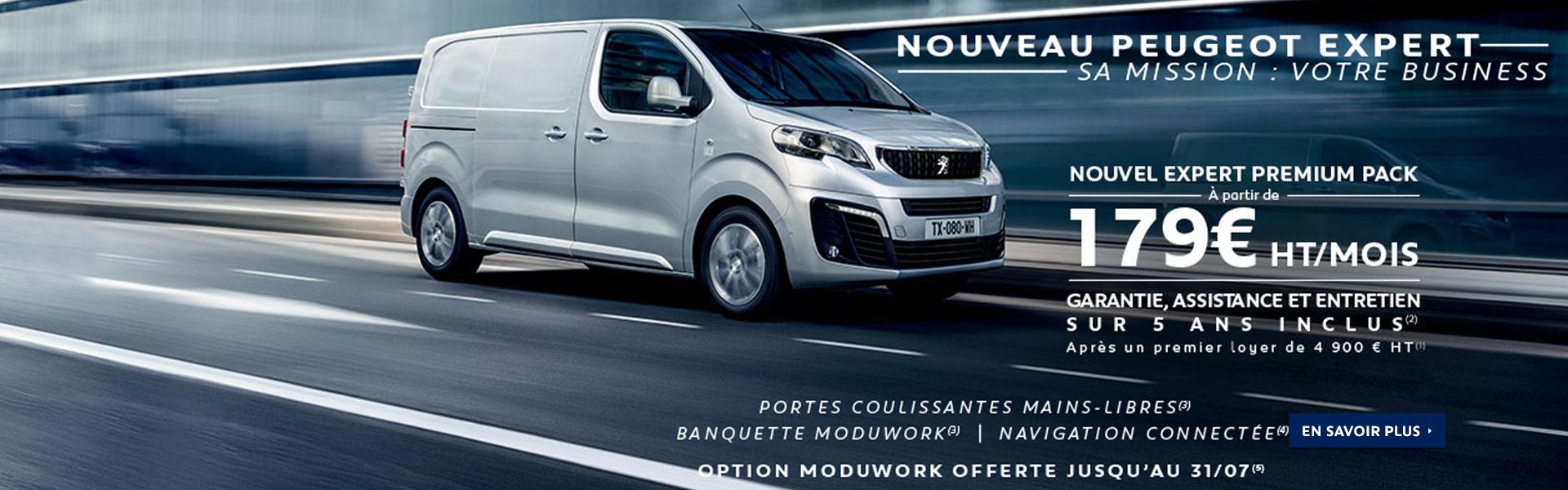 Nouveau Peugeot Expert