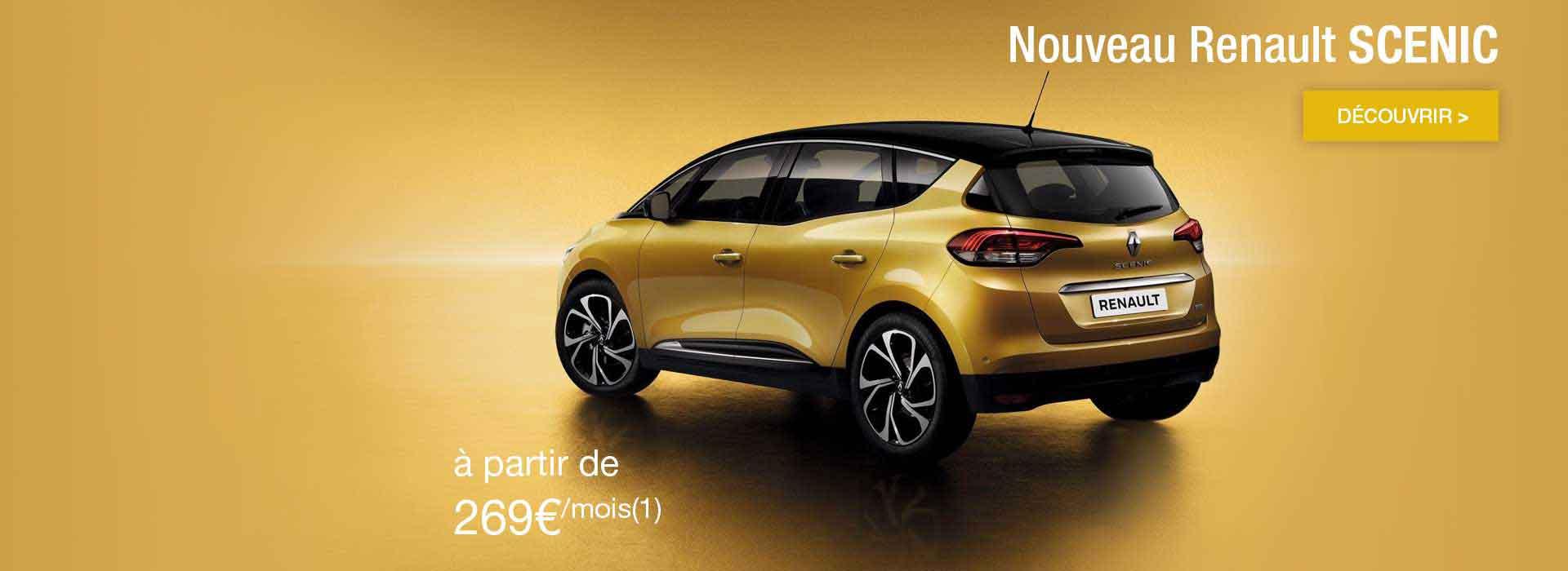 Nouveau Renault Scenic promotion