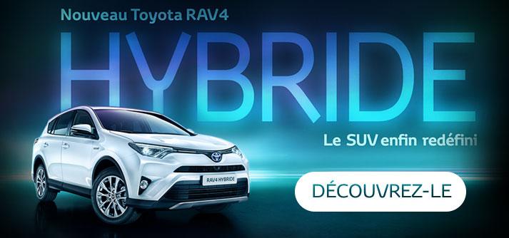 Nouveau Toyota RAV4 hybride