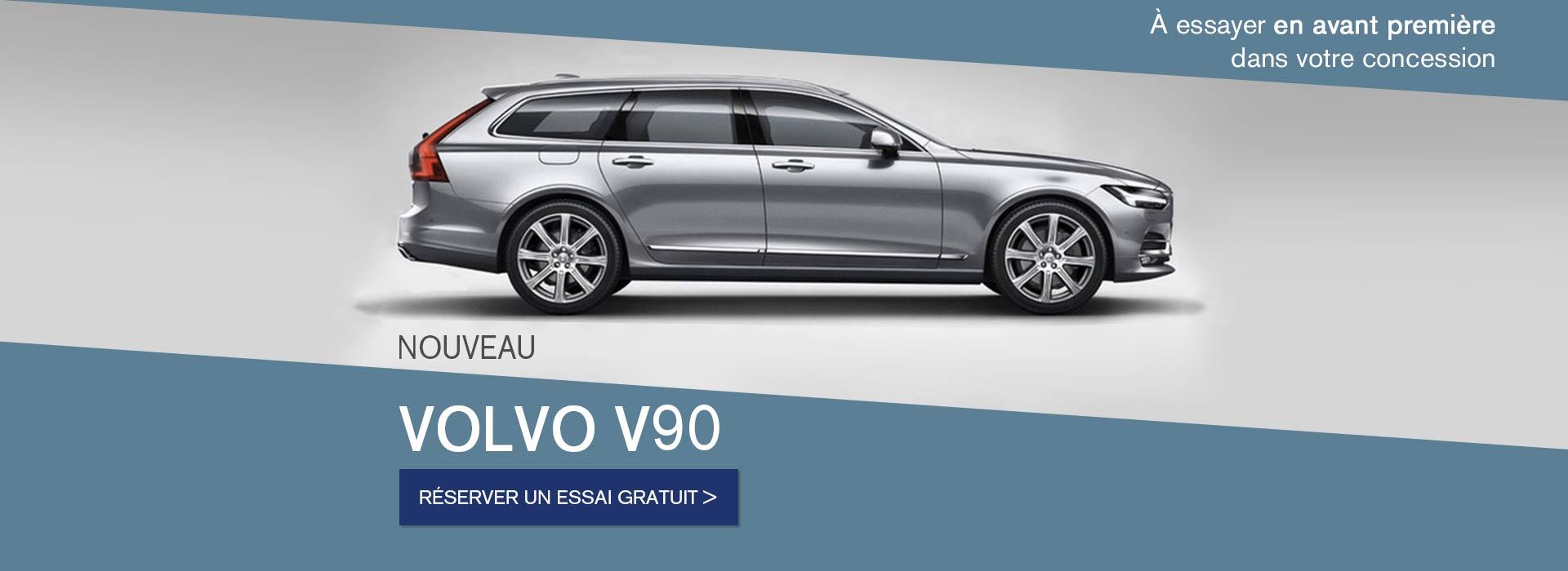 Venez essayer le nouveau Volvo V90