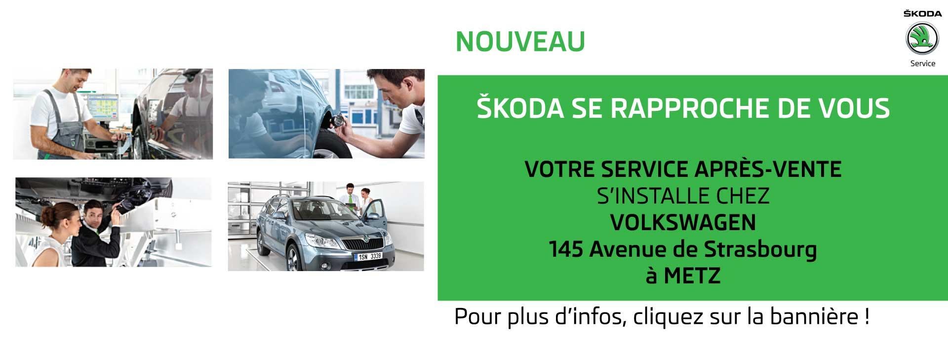 Nouvel Atelier Skoda à Metz