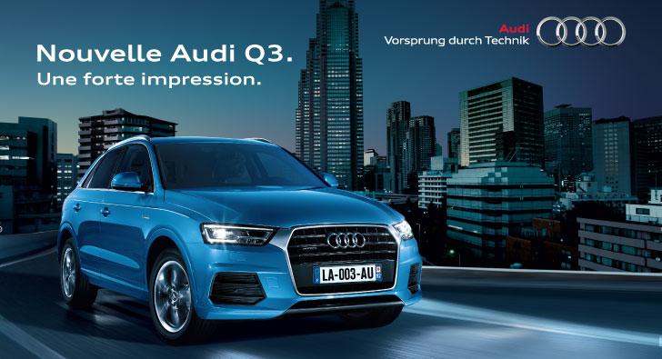 Nouvelle Audi Q3