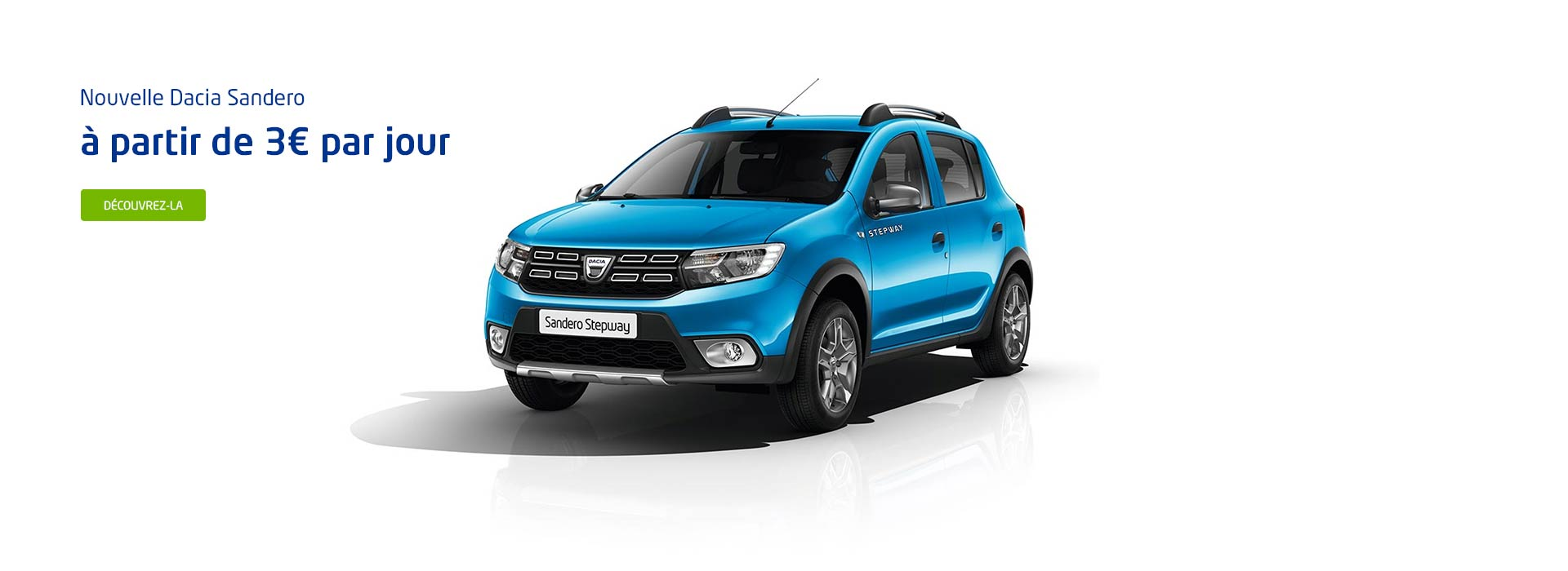 Dacia soissons concessionnaire garage aisne 02 for Garage seat soissons