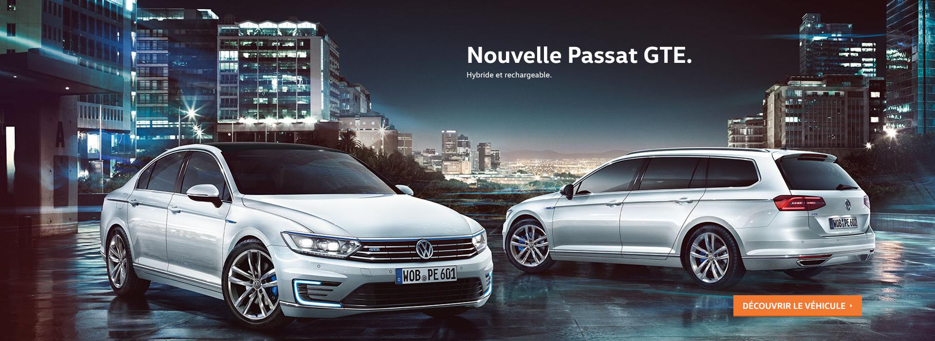 Nouvelle Passat GTE