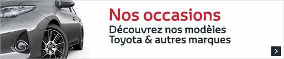 voitures Toyota d'occasion ou voitures de direction