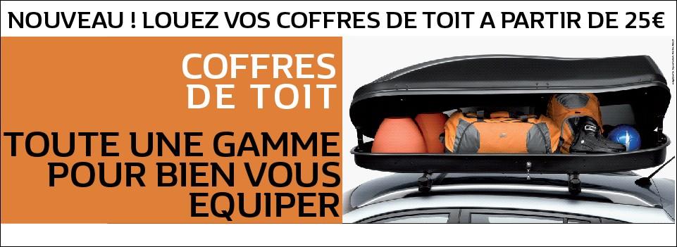 OFFRE COFFRE DE TOIT