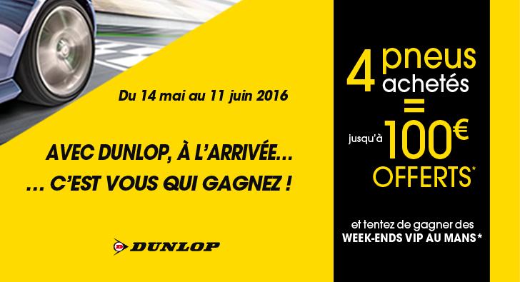 Offre Dunlop