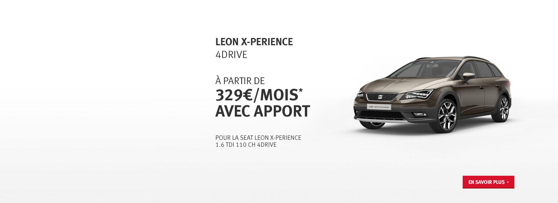 Offre Leon X-PERIENCE