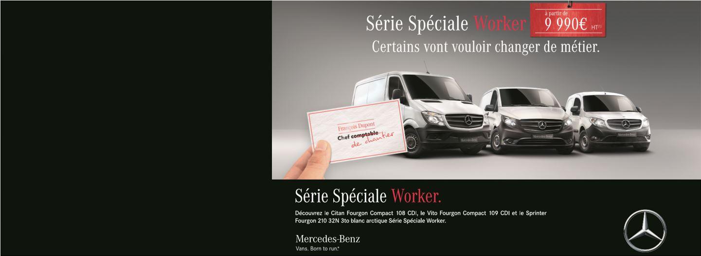 Offre spéciale Série Worker
