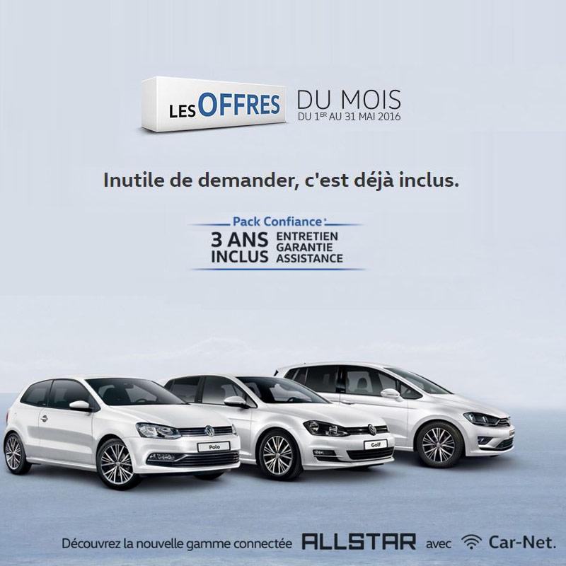 Offres Volkswagen