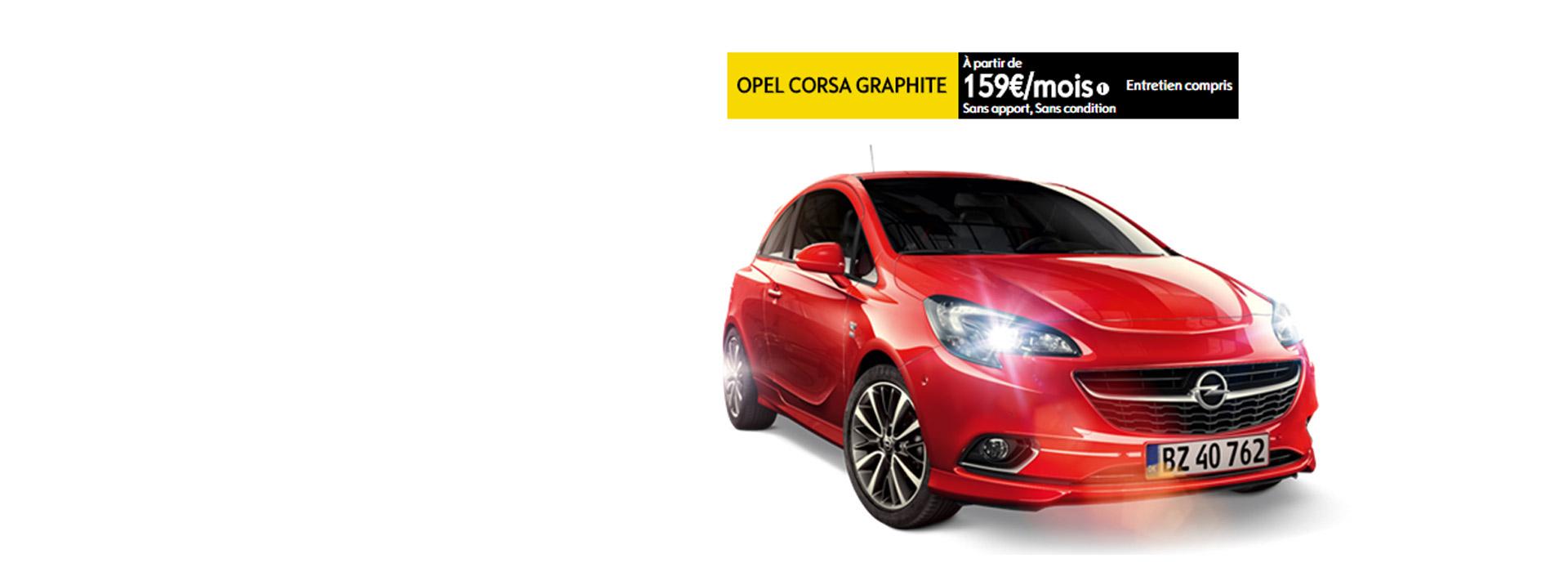 Opel Corsa Graphite