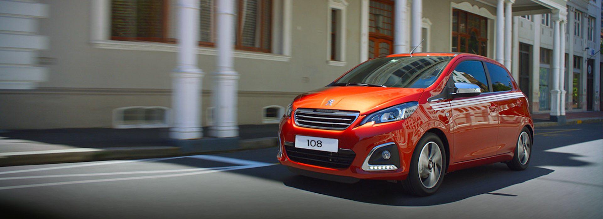 Peugeot 108 in promozione